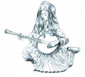 foto of banjo  - Theme - JPG