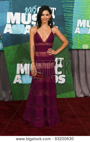 NASHVILLE, TN-JUN 10: Actress Jenna Dewan-Tatum attends the 2015 CMT Music Awards at the Bridgestone Arena on June 10, 2015 in Nashville, Tennessee.