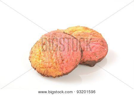 Neopolitan Swirl Cookies