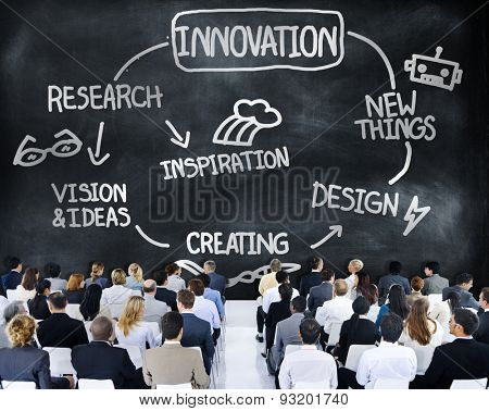 Innovation Invention Vision Research Future Concept