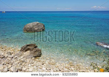 Blue Waters of the Agios Nikitas Beach, Lefkada
