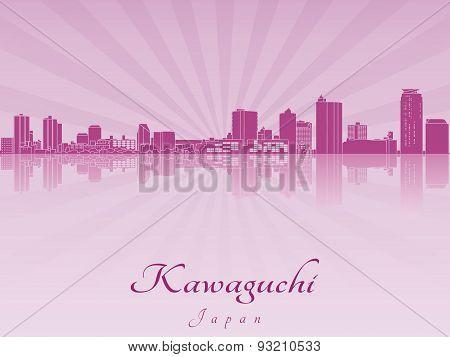 Kawaguchi Skyline In Purple Radiant Orchid