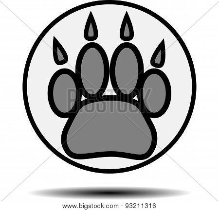 Foot Print Animal