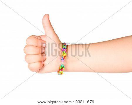 Hand With Bracelet Gum