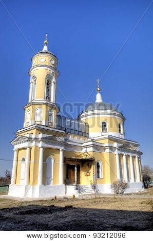 Church of the Exaltation of the Holy Cross (Krestovozdvizhenskaya). Kolomna, Russia
