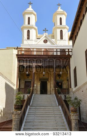 Cairo, Egypt - Saint Virgin Mary Coptic Orthodox Church