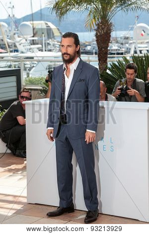 Actor Matthew McConaughey, Naomi Watts attend the The Sea of Trees photocall during the 68th annual Cannes Film Festival on May 16, 2015 in Cannes, France.