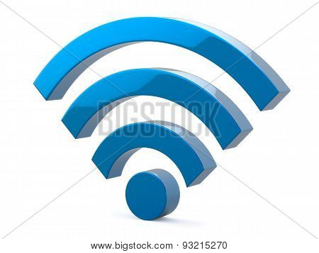 Wi Fi Wireless Network Symbol Illustration