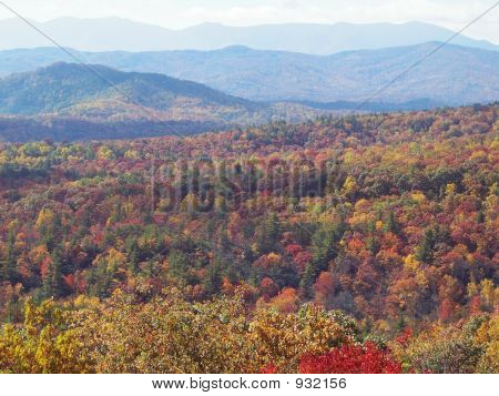 Blue Ridge In The Fall