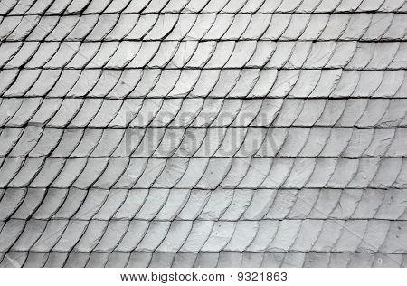 Gray Schist Roof