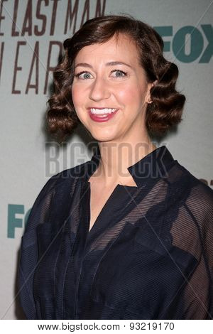 LOS ANGELES - JUN 10:  Kristen Schaal at the FOX's