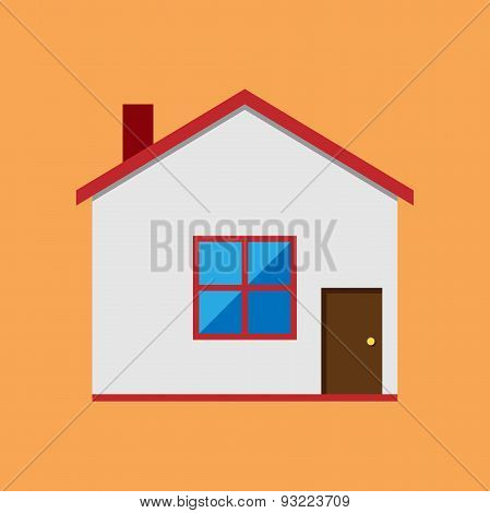 Vector House, Flat Style