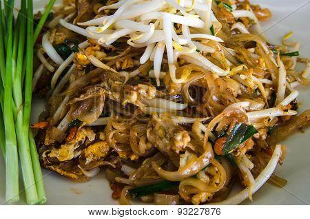 pad thai, stir thailand traditional of thai food