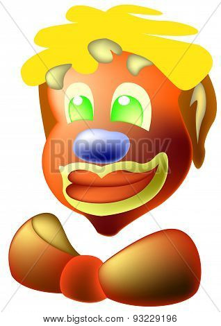 Clown With Bow