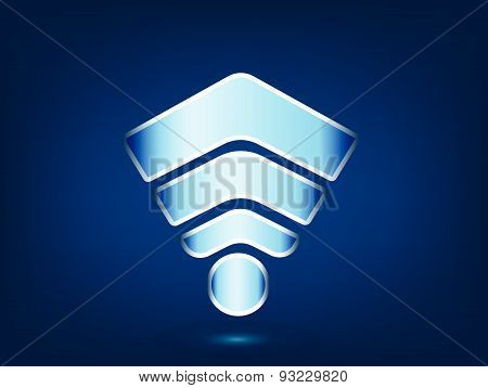 Wifi Signal Signs Icons Of Wifi Connection Technology