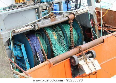 Fishing Trawler Boat.