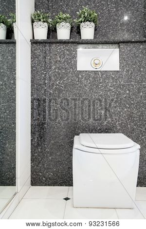 Lavatory In Modern Toilet