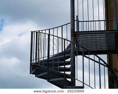 Metal Modern Spiral Staircase