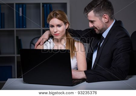 Boss Seducing His Employee