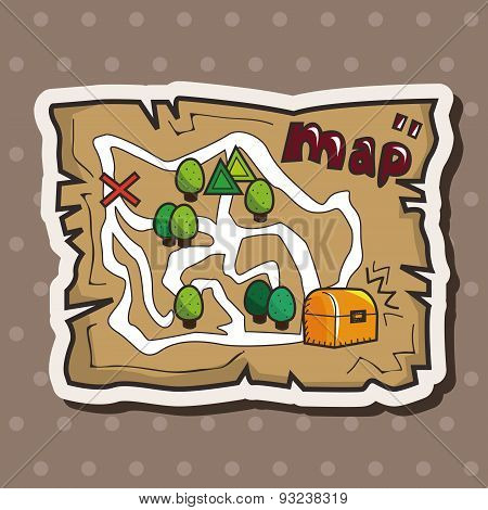 Treasure Map Theme Elements