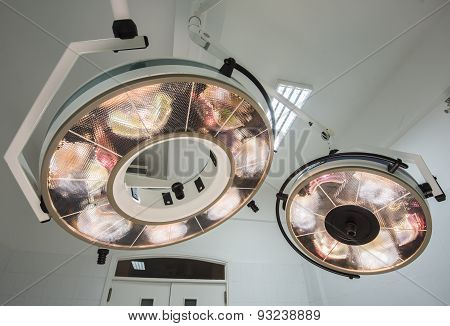 High Powered Lights In A Hospital