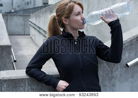 Water Gives Refreshment