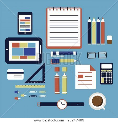 Office equipment business development objects