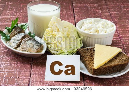 Products Containing Calcium