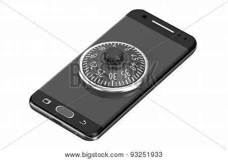 Smartphone With Combination Lock