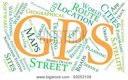 GPS Word Cloud
