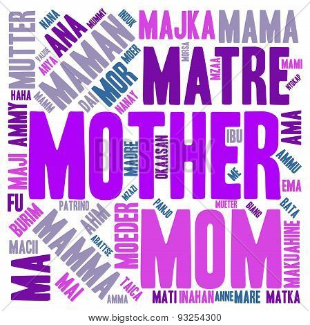 Mother International Word Cloud