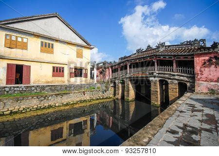 Japanese Bridge In Hoi An, Vietnam