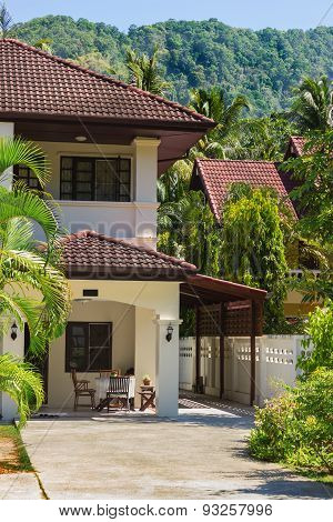 House Near The Mountains. Thailand