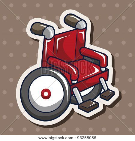 Wheelchair Theme Elements