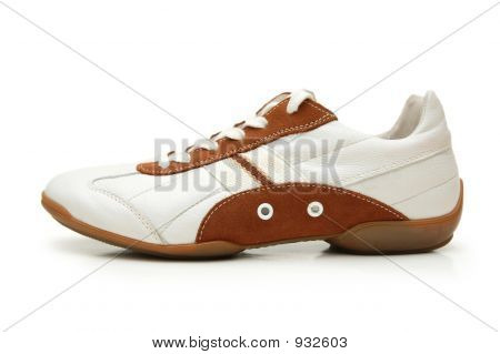 Sport Shoe Isolated On The White Background