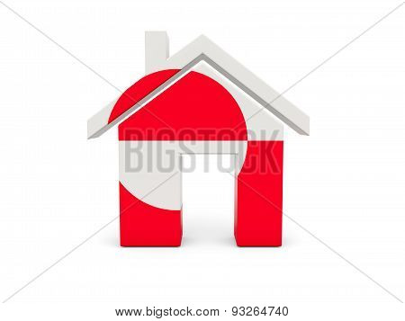 Home With Flag Of Greenland