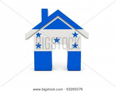 Home With Flag Of Honduras