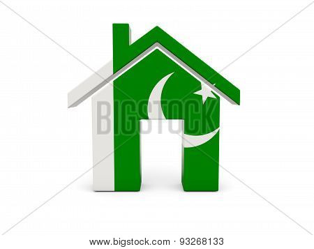 Home With Flag Of Pakistan