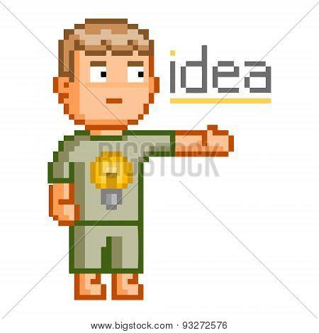 Pixel art great idea