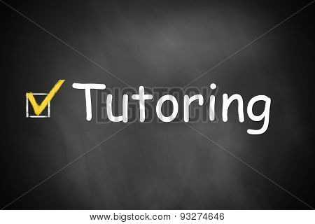 Chalkboard Checkbox Checked Tutoring