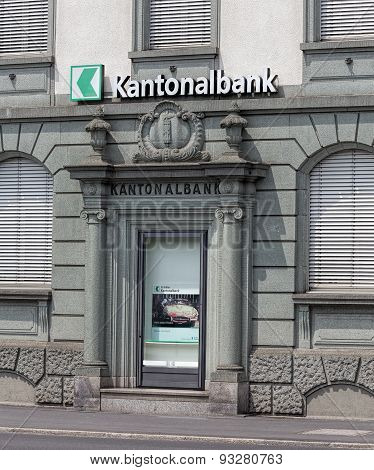St. Gallen Cantonal Bank Office