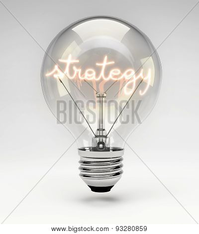 Conceptual Light Bulb (set) - Strategy