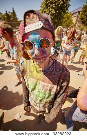 Holi People