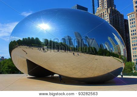 Cloud Gate Landmark