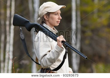 Woman Hunter