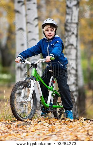 Boy On The Bike