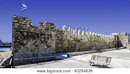 Kales Fort In Lerapetra Panorama