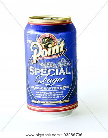 Can Of Point Special Beer