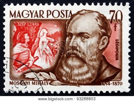 Postage Stamp Hungary 1953 Mihaly Mosonyi, Hungarian Composer