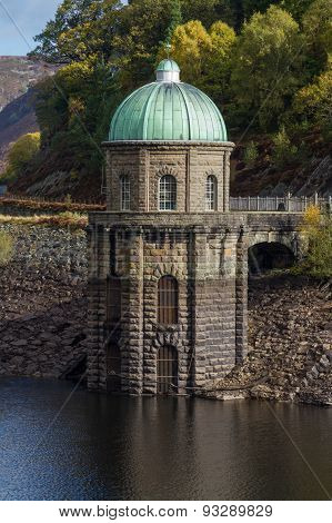 Foel Tower Water Intake Garreg Ddu Reservoir
